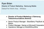 RIM's PlayBook manager jumps ship to Samsung