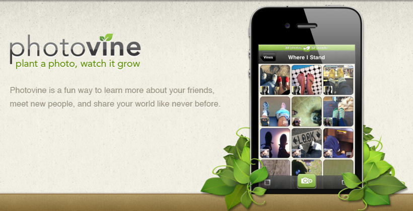 Photovine is Live, Time for some Futuristic Google Photo Sharing