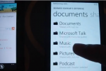 Windows Phone Mango Supports Music Streaming From SkyDrive