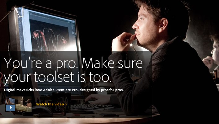 Adobe: Save 50% if you dump Apple's Final Cut Pro X for our app