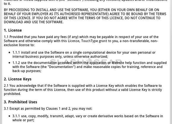SwiftKey Tablet X Review