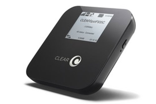 Clearwire Clear Spot 4G Apollo debuts