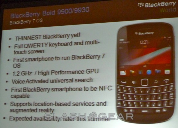 Seven BlackBerry 7 smartphones incoming as RIM struggles to compete