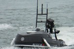 Navy testing remote controlled jet ski to detect swimming attackers