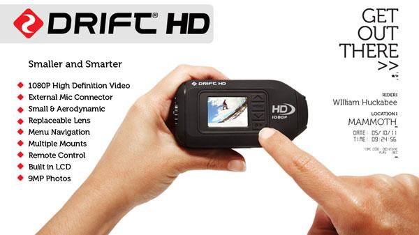 Drift HD sports camcorder debuts