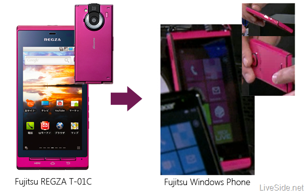 Fujitsu Windows Phone could be tweaked 12MP Android handset