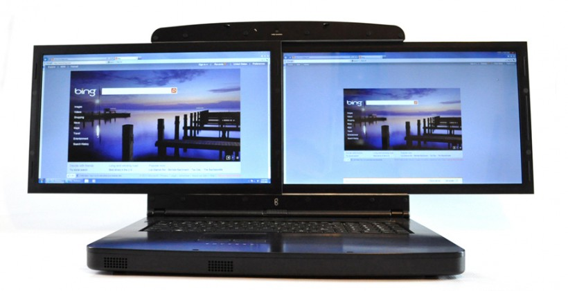 GScreen SpaceBook, Monstrous Dual Screen Laptop, Pre-Orders Start Now