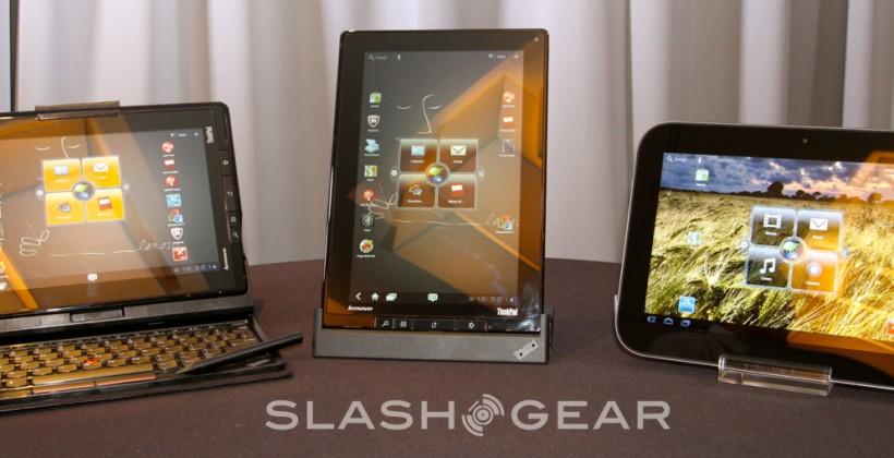 Lenovo IdeaPad K1 and ThinkPad Tablet hands-on