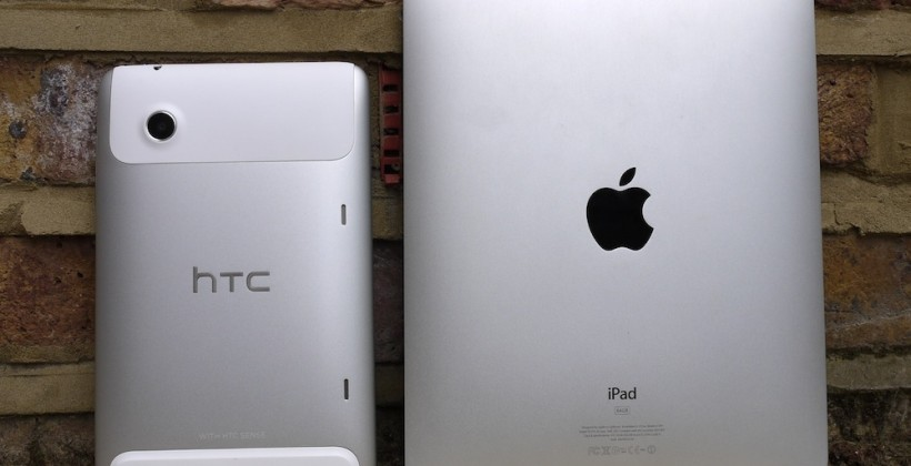 HTC calls out Apple for competing in courts, not on products