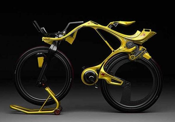 INgSOC Hybrid bike has no chain, looks painful