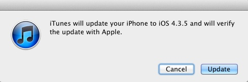 Apple Unleashes iOS 4.3.5 And iOS 4.2.10 Security Updates