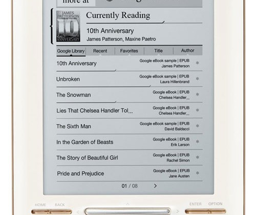 iRiver Story HD is first eReader with Google eBooks integrated