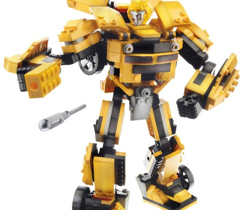 KRE-O construction Transformer sets hit stores