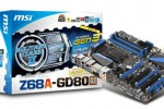 MSI Z68A-GD80 (G3) Intel mainboard is first with PCI Express Gen 3