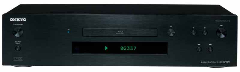Onkyo BD-SP809 Blu-ray flagship adds on-demand streaming, more