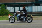 Orphiro shows off electric motorcycle that looks retro