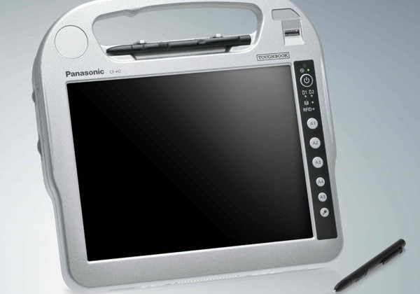 Panasonic debuts Toughbook CF-H2 tablet for field workers