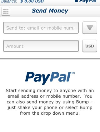 PayPal for iPhone update adds full mobile history access, new UI