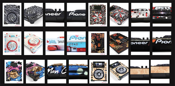 Pioneer DJ Art Mix Tour shows off customized DJ gear