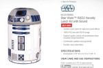 Thermos launches Star Wars R2D2 Lunch Box with Sound