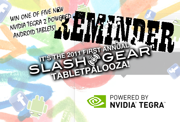 Tabletpalooza Giveaway Week One Reminder: Free Galaxy Tab 10.1 in the House!