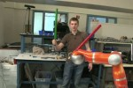 Stanford students create robot arm that wields foam sword SLOWLY