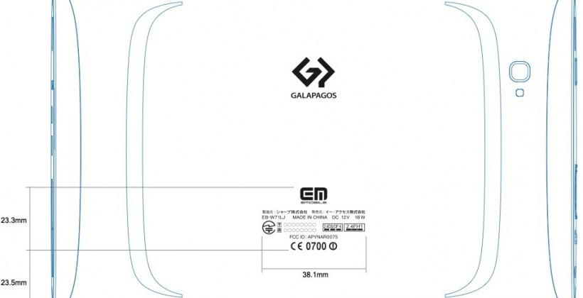 Sharp 7-inch Galapagos and Samsung Galaxy Tab 8.9 tablets clear FCC