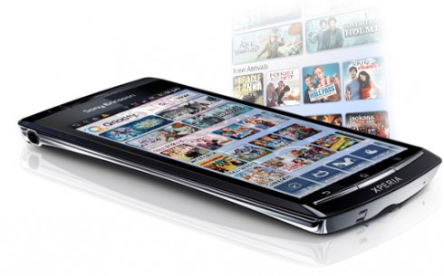 Sony Ericsson adding Qriocity movie streaming to XPERIAs in August