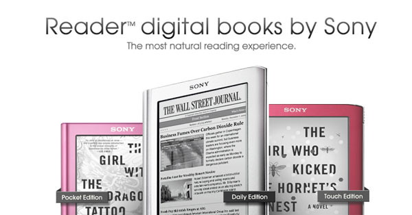 Sony to launch new eReaders next month? [Updated]
