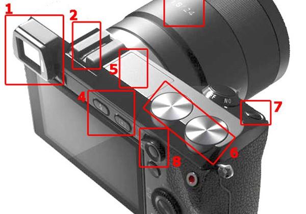 Photo of Sony NEX-7 digital camera leaks