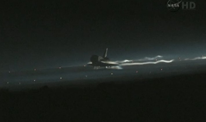 Space Shuttle Atlantis touchdown ends 26 years of flight