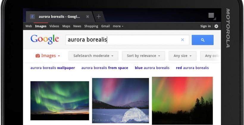 Strange Google Search Optimized For Ipads Android Tablets Slashgear Beutiful Home Inspiration Semekurdistantinfo