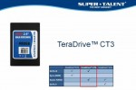 Super Talent TeraDrive CT3 SATA III SSD debuts with 520MB/s writes