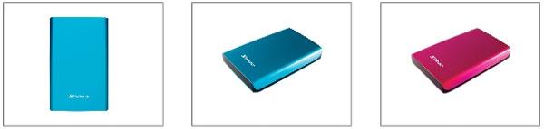 Verbatim Splashed Store 'n' Go USB external HDDs debut
