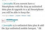 Verizon Unlimited 3G Customers Can Upgrade To 4G, Keep Unlimited, And Add $30 Tether