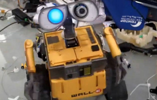 Wall-E becomes a real robot, no fairy godmother needed