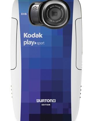 Kodak announces PLAYSPORT Burton Edition video camera, ready for the slopes