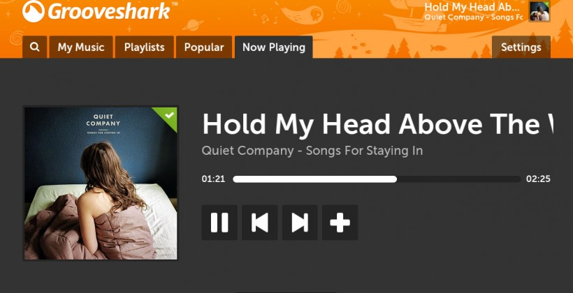 Boxee adds Grooveshark streaming music