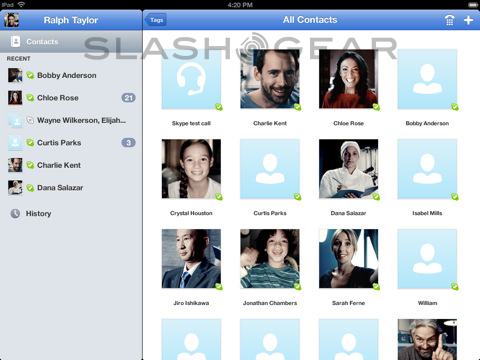 Skype for iPad Released Today [Update: Yanked!]