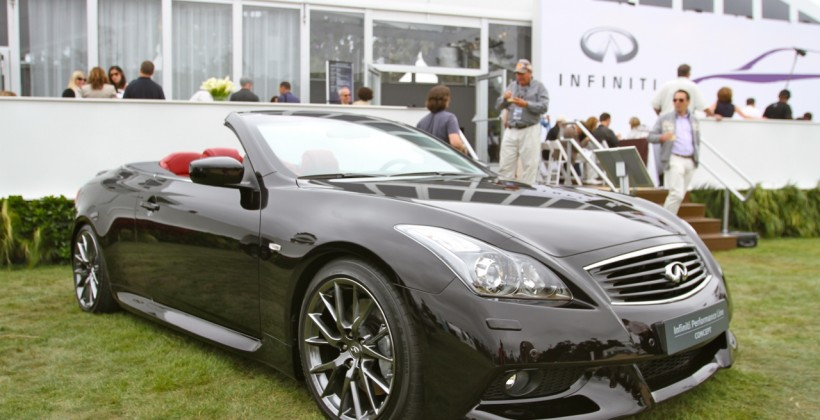 IPL G Convertible at Pebble Beach Concours d'Elegance 2011