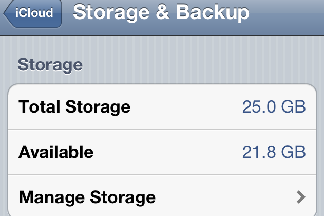MobileMe Users Migrating To iCloud Get 25GB