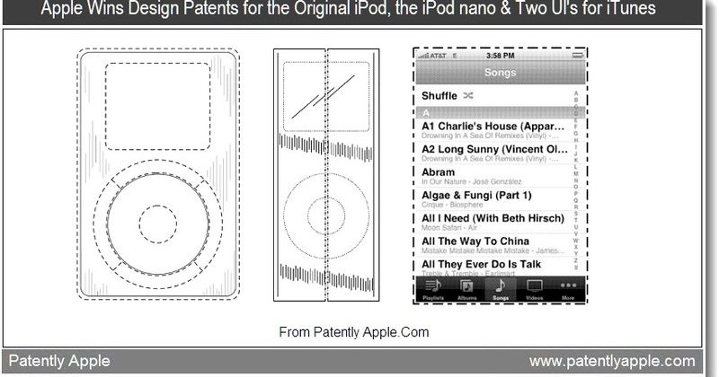 Apple Wins Patents for MagSafe on iPad, Multi-Touch Displays, Original iPod