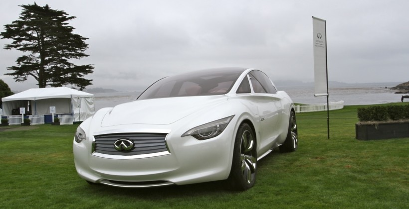 Infiniti Etherea at Pebble Beach Concours d'Elegance