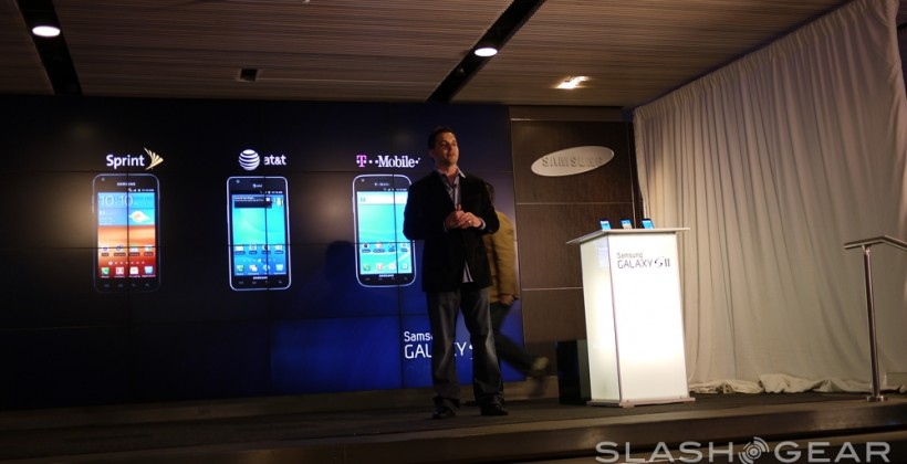Samsung Galaxy S II for AT&T Hands-On [Video]
