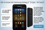 Samsung Galaxy S II Epic 4G Touch confirmed early