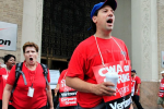 Verizon Workers Strike, 45,000 Union Members Strong