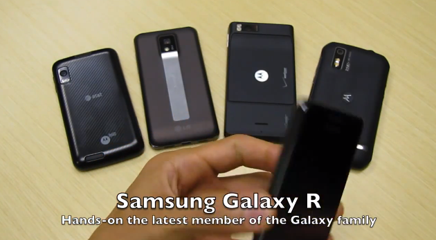 Samsung Galaxy R gets Hands-On Treatment from NVIDIA