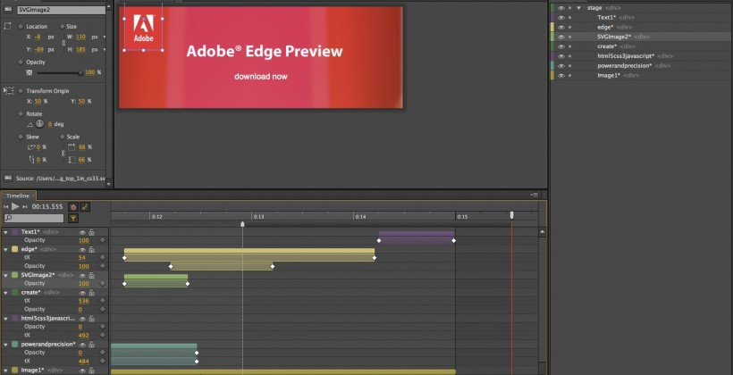 Adobe Edge HTML5 app could eat Flash from the inside