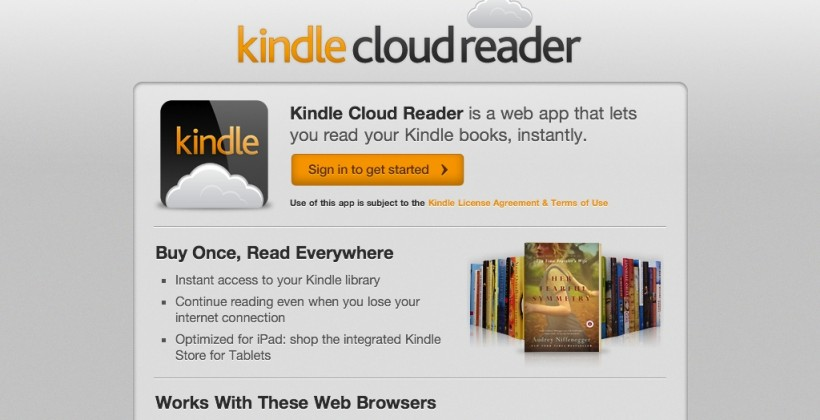 Amazon Kindle iPad web-app bypasses store-link rules