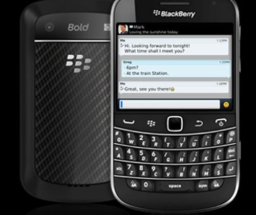 Blackberry Bold 9900 gets ship date for Vodafone UK